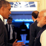 PM Narendra Modi reached White House for private dinner hosted by Obama